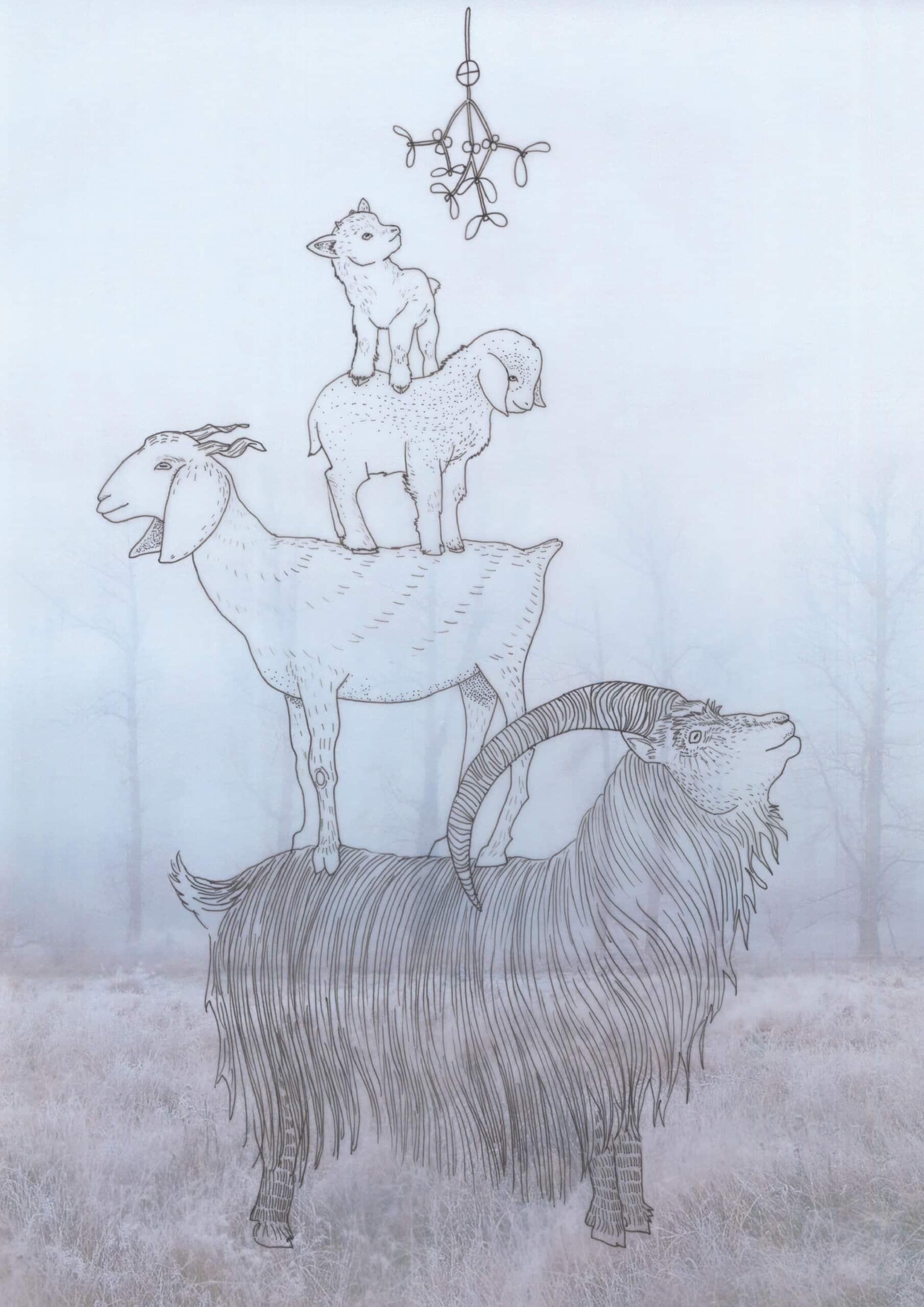 Goats Atelier Solawende Yule Geiten