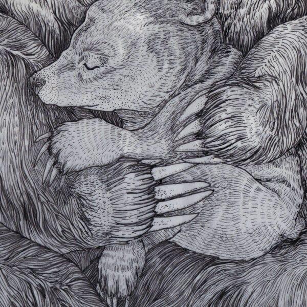 Beer Atelier Solawende Yule Bear Illustration